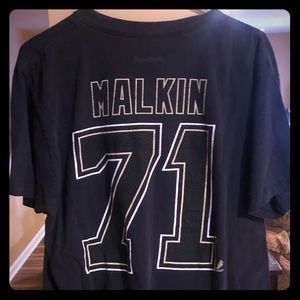Evgeni Malkin NHL Penguins Reebok Hockey TShirt
